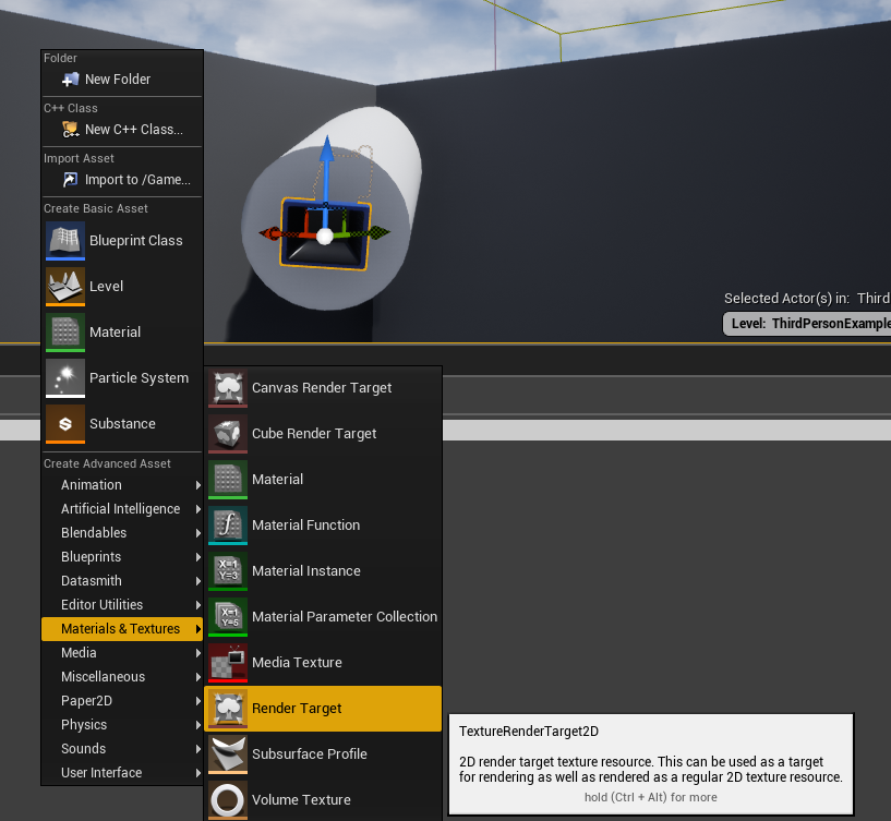 Making a simple security camera with Unreal Engine | The Messy Geek
